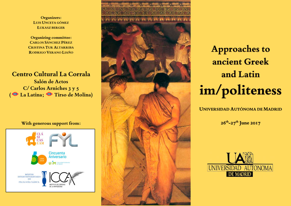 Approaches to ancient Greek and Latin