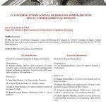 IV Congreso Internacional de Derecho Administrativo, Fiscal y Medioambiental Romano
